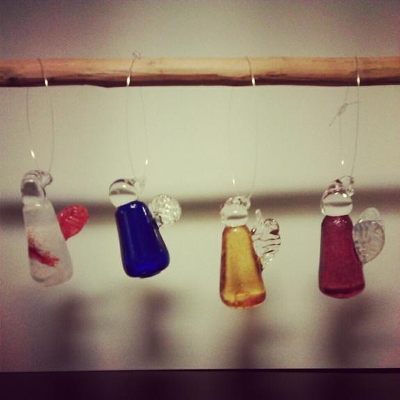 HVORDAN LAGE GLASSENGLER