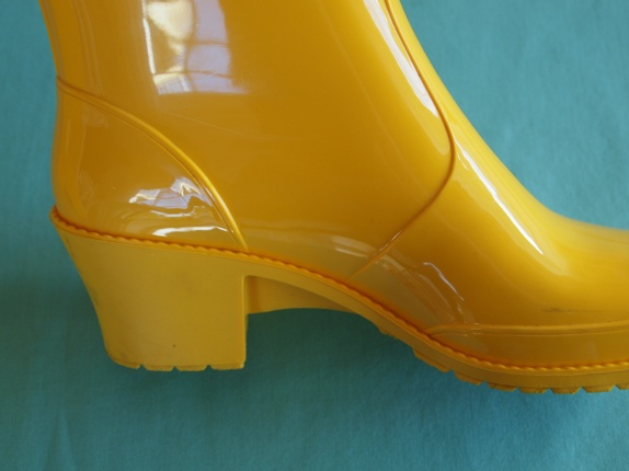 Gule støvler i regnvær, str. 38 - Epla