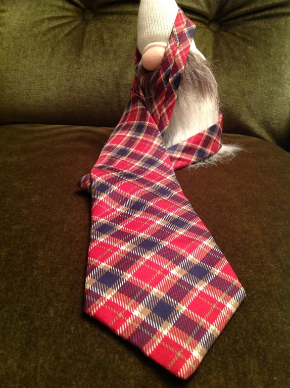 Lloyd's silkeslips - Norge - Et vintage rutete silke slips i vakre farger! 100% silke.Made in Italy.Det er av god kvalitet og i god stand! - Norge