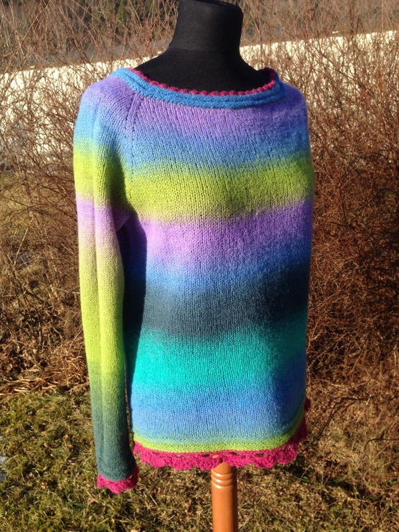 lette rett strikk genser
