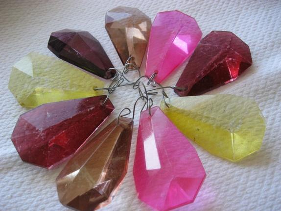 ulike rosa farger