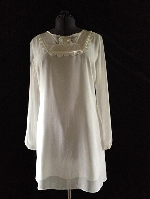 6d4c15bb Hvit kjole fra ASOS - Epla
