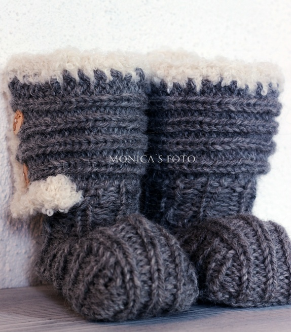 strikket uggs
