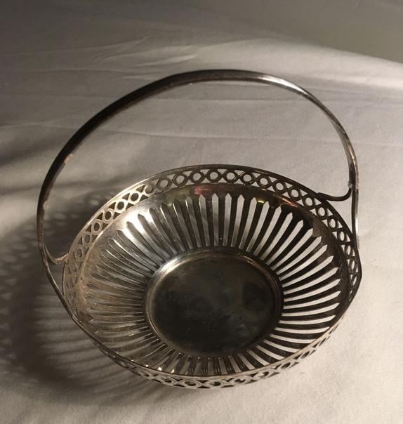 Siste Liten kurv i sølvplett - Epla JN-01