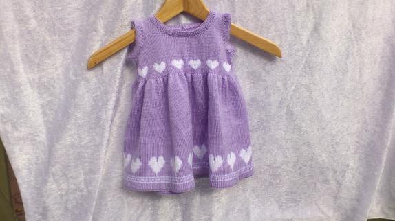 strikkede kjoler opskrifter