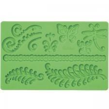 Mattepreger med div mønster - Norge - Perfekt for at gjøre flotte og dekorative dekorasjoner til kaker. Mål:19,5cm*12cm - Norge