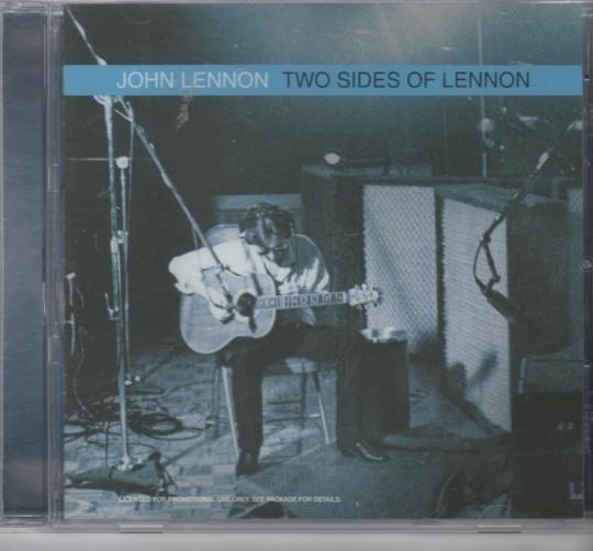 CD John Lennon Two Sides Of Lennon Promotions cd - Norge - Cd 1 time med musikk og svar (du stiller spørsmålene) Promotions cd Fra 2004 Ny og ubrukt ikke plastforseglet. - Norge