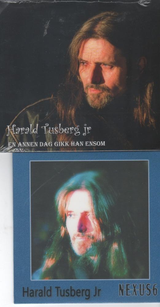 CD . Harald Tusberg Jr. 2 forskjellige cd. - Norge - Cd En annen dag gitt han ensom Utgitt 2007 og Nexus 6 utgitt 2017. Begge utgitt i papp cover, ubrukt og forseglet. - Norge