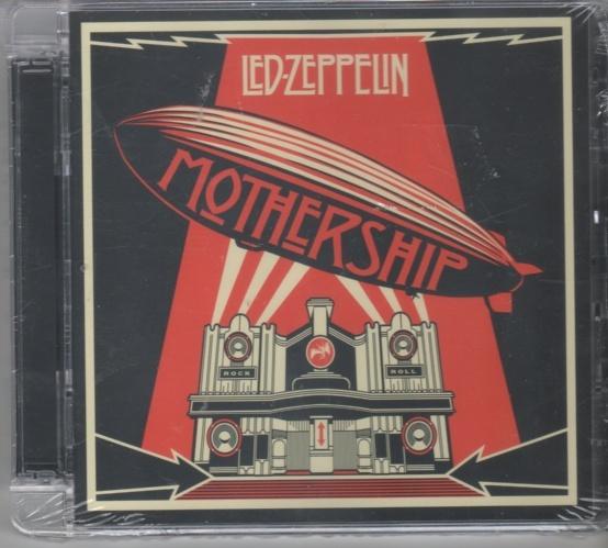 CD Dobbel cd Led Zeppelin Mothership - Norge - Cd utgitt 2007 i super jewel cover ny og forseglet. - Norge