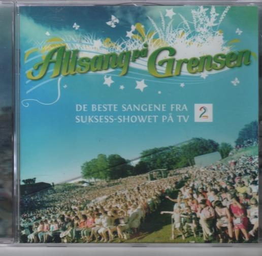 CD Allsang på grensen - Norge - De beste sangene fra suksess-showet på tv2. Brukt - Norge