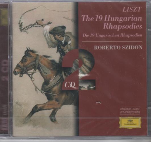 CD Franz Liszt The 19 Hungarian Rhapsodies dobbel cd - Norge - Cd utgivelse Deutche Grammophon.Ukjent år. Ny og forseglet. - Norge