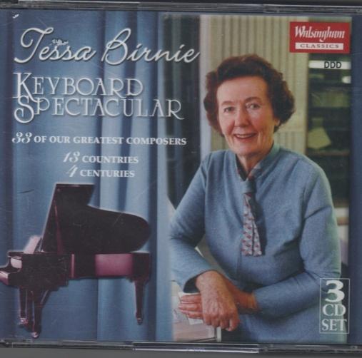 CD Tessa Birnie  3 cd boks Keyboard Spectacular - Norge - Utgitt 2000. meget pent brukt. - Norge
