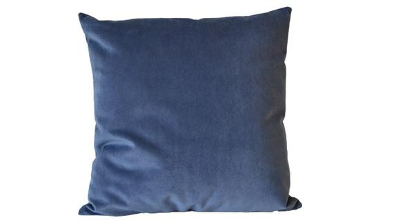 Topnotch Blå putetrekk, møbelchenille, 50x50 cm - Epla ZC-86