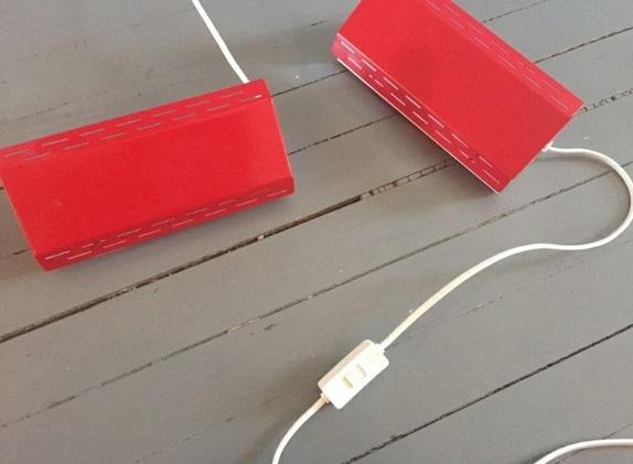 Forskjellige Retro skrivebords/-nattbordslampe - Epla OE-26