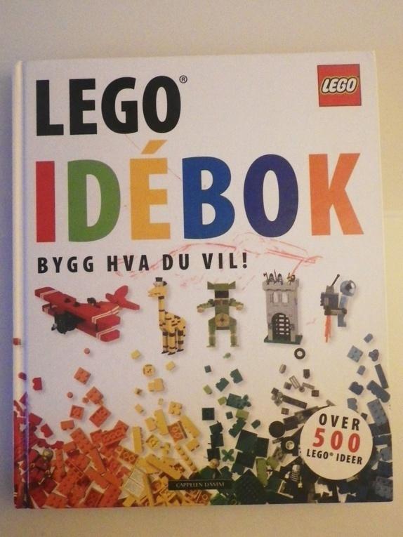 Lego stor idebok - Norge - Stor flott bok fra LEGO med masse ideer til hva du kan bygge. 200 sider med over 500 legoideer. Boka er i flott stand. En krusedull på forsiden. Søkeord: kreativ, leker, bygge, barn, barnerom, barnas gjenbruk - Norge