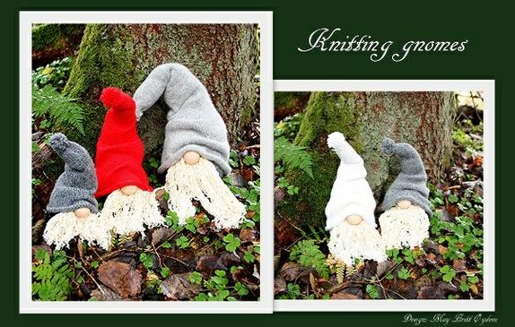Strikkeoppskrift - Norge - Strikkeoppskrift til Gnomer i 3 storleikarStrikka i 100% ull pdf fil sendt på e-post Vipps 99441589 og legg ved epost adresse - Norge