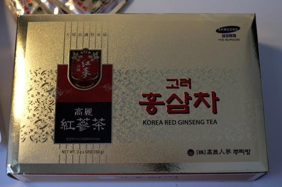 KOREA RED GINSENG TEA - Norge - 3 g*50 stykker No suger - Norge