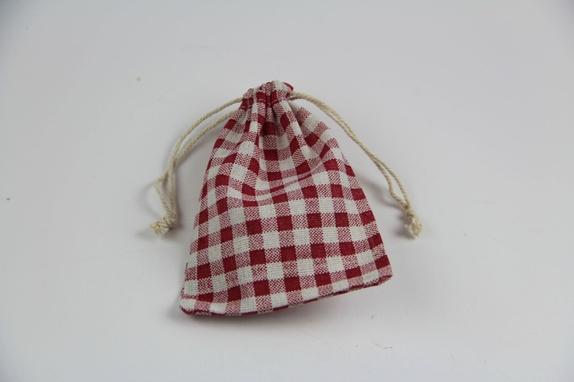 Liten tøypose - Norge - Søt og praktisk tøypose til småting eller gaver. Måler 10x 14 cm. - Norge
