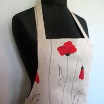 48576e88 kr 211,-. Lin Kjøkken Forkle Hagearbeid Forkle Lærer Forkle Naturgrå blomst  blomster krysantemum