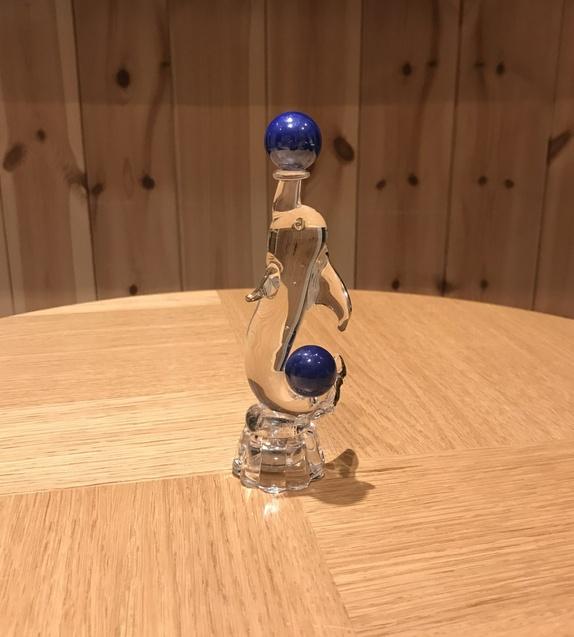 Glass statue - defin - Norge - Håndlaget glass statueFra EspaniaH : 15 cm - Norge