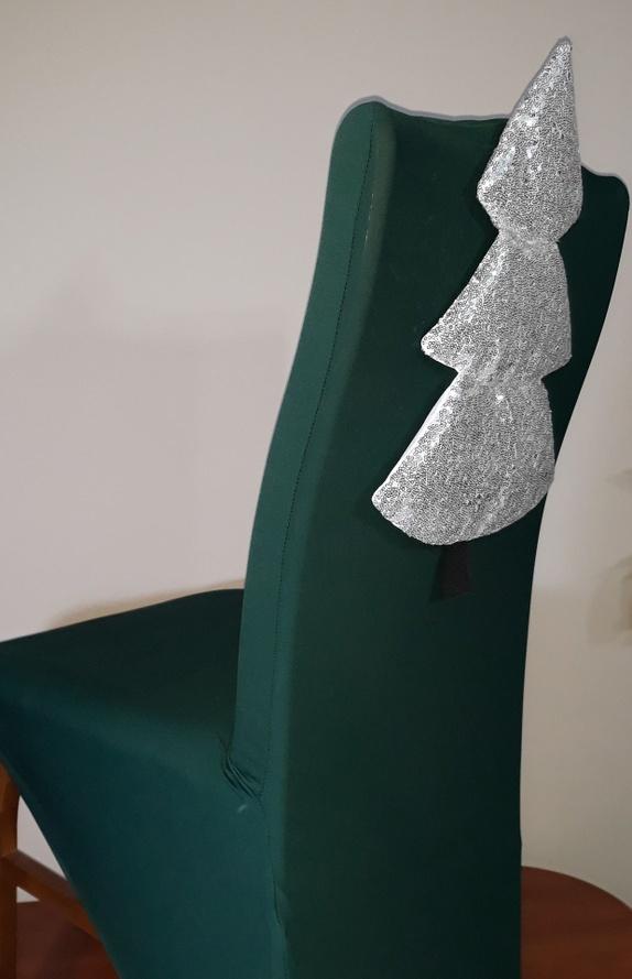 Julepynt til stoler Trekk Epla