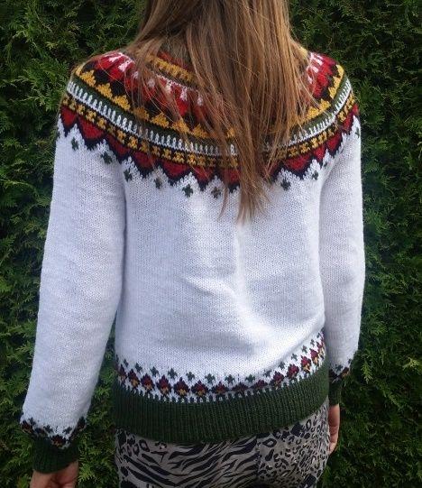17edbd77 Eskimo genser er beregnet på str.M og har målene: