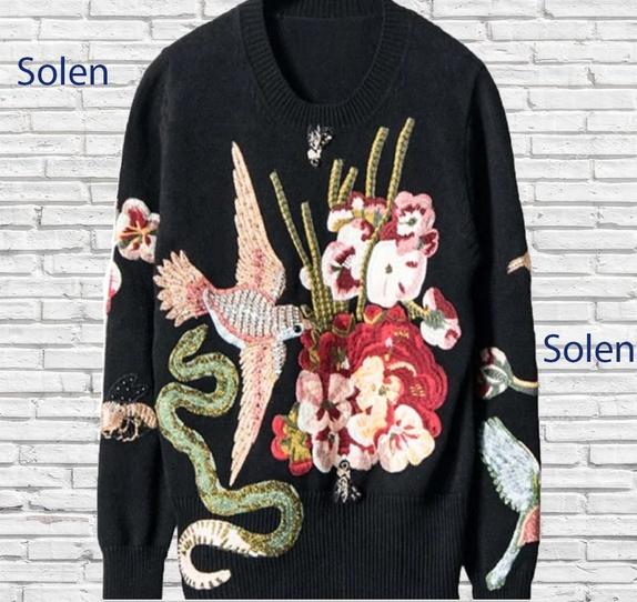 0bc6eee4 Trykt pullover - Norge - 100% polyester! Størrelser S og M! Helt håndlaget