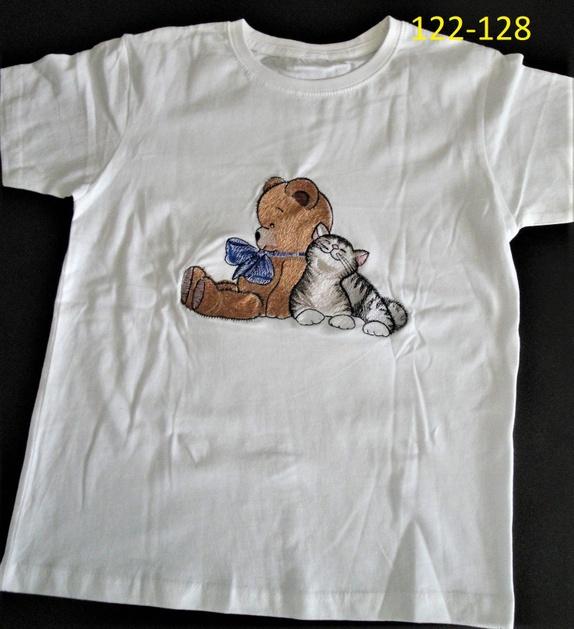 T skjorte for barn . Epla