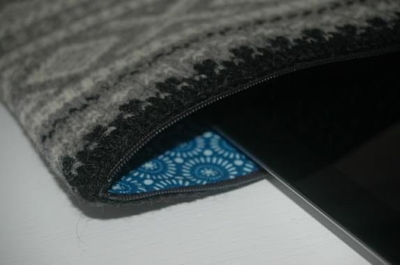 iPad veske blå parlør Epla