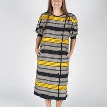 4b9dd1cb *DAGSPRIS* Vintage SILKE 70-talls kjole, L