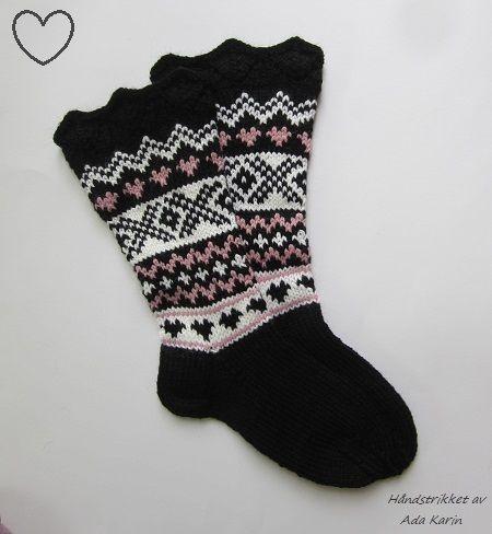 Strikke sokker baby oppskrift