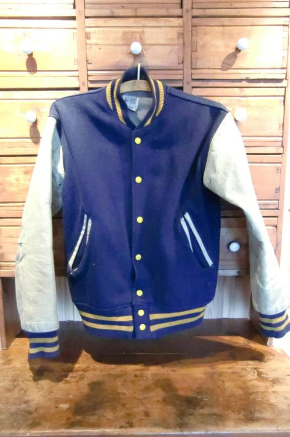 Orginal Felco Athletic amerikansk college jakke fra 70