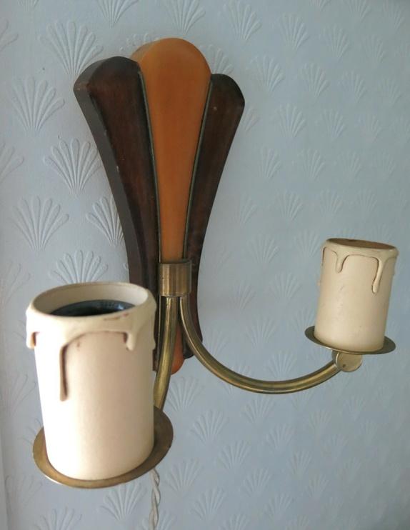 Ryddesalg! Norsk lampesett fra 50 tallet Epla