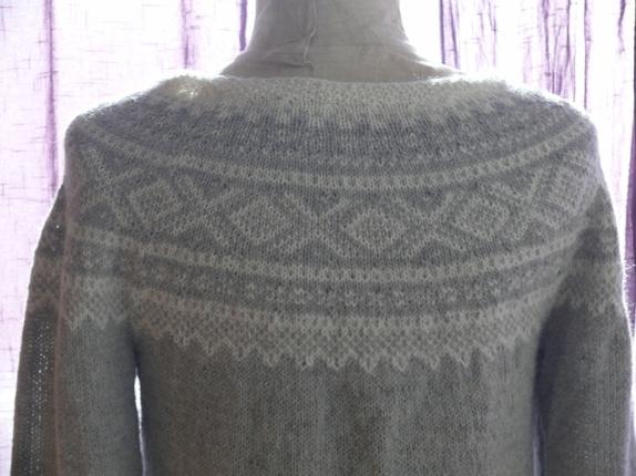 Mariusgenser str.L strikkes i Sandnes Alpakka eller Drops