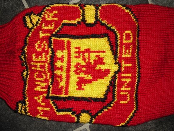 Manchester United Genser Strikket