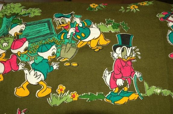 Gardiner med donald duck og venner   epla