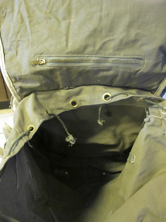 40% avslag råtøff vintage militær ryggsekk Epla