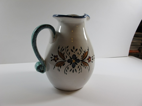 Seriøst Sjelden, hånddekorert Egersund keramikk vase - Epla DO-09