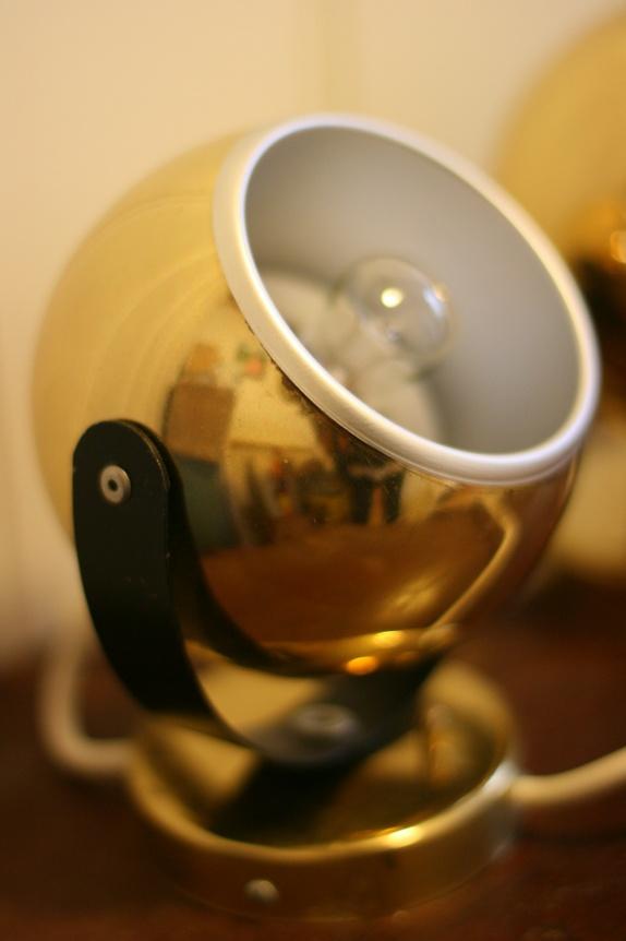 2 stk gull ball lamper Mikkelsen & Sønner AS Epla