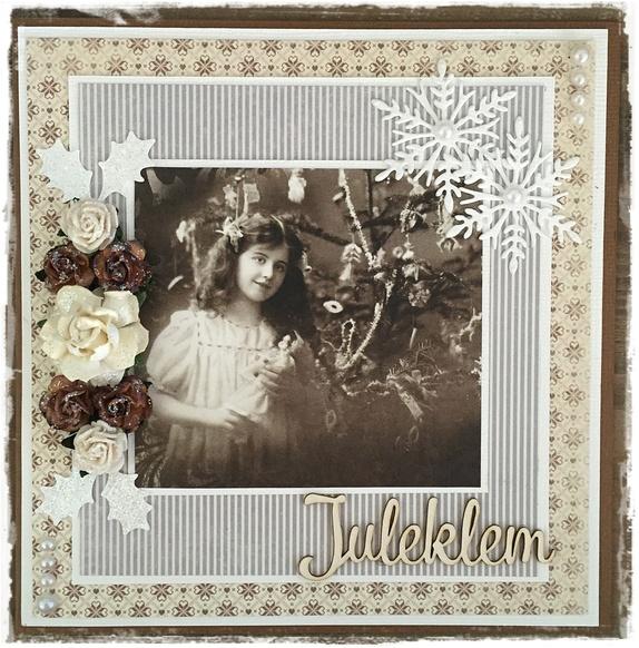 Julekort - Norge - Hyggelig julekort som vil glede noen i jultiden. Str: ca 15 cm x 15 cm. Leveres i cellofankonvolutt. - Norge