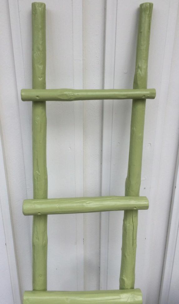6 trinns stige Grønn - Norge - Herlig grønnfarge på 6 trinn's stige. Høyde 180cm og bredde 47 cm. ( kan leveres i ønsket mål) - Norge