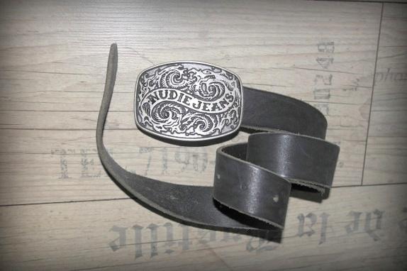 Nudie Jeans belte - Norge - i lær. - Norge