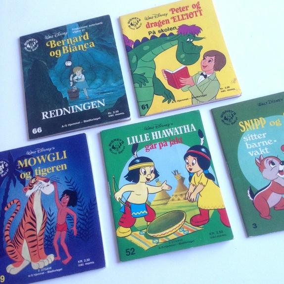 Disney bøker barn