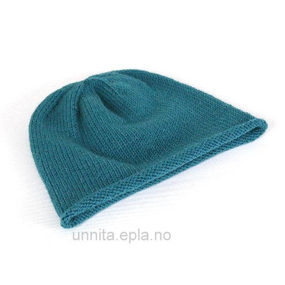 a1cdbec5 Lue med rullekant(dame) - Norge - Lue med rullekantDen er strikket i  merinoull