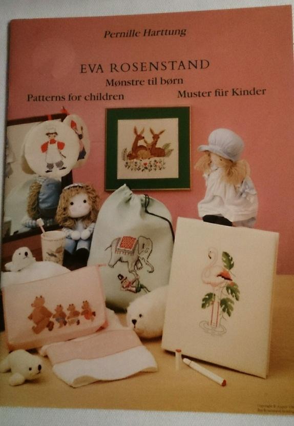 Mønsterhefte broderi - Norge - Eva Rosenstad Broderi mønster Mønster til barn - Norge