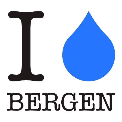 I • Bergen - Herreskjorte L - Norge - Hvit T-skjorte - Herre. Størrelser: L Bergensere har nesten like mange ord for nedbør som eskimoene har for snø. Sjekk listen: musk • yr • duskregn • striregn • vanlig regn • regnbyger • flobyger • høljregn • styrtregn • pøs - Norge