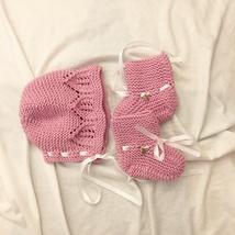 marius selekjole oppskrift Men i rosa og hvitt restegarn