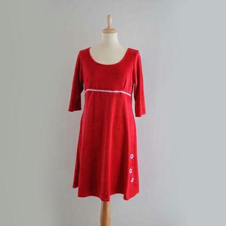 Rød kjole barn
