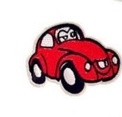 Bil, strykemerke / symerke - Norge - Bil / Boble / VW, strykemerke / symerke Str: 7,8 X 6,1 cm Blir det betalt for mye i porto. blir det tilbakebetalt. - Norge