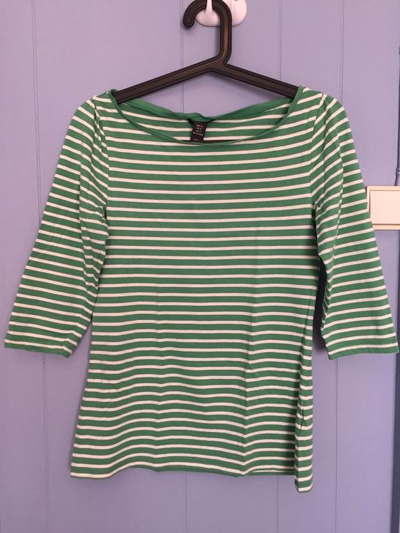 Stripete genser